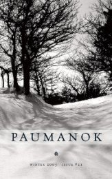 Download TPR #21 in PDF - The Paumanok Review