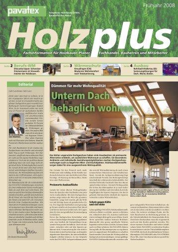 Download Zeitung als PDF - Pavatex