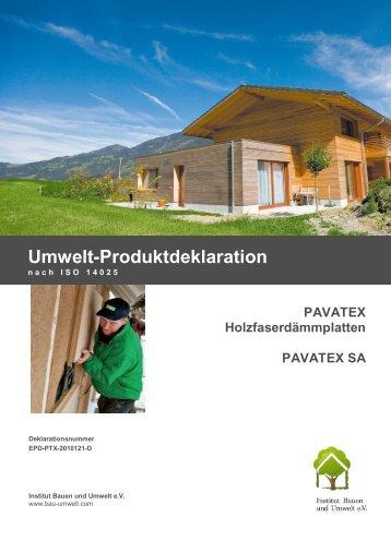 EPD-PTX-2010121-D - Institut Bauen und Umwelt