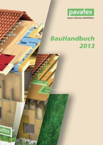 BauHandbuch 2013 - Pavatex