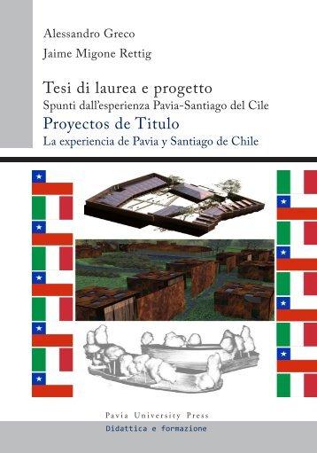 PDF - Sommario e introduzione - Pavia University Press