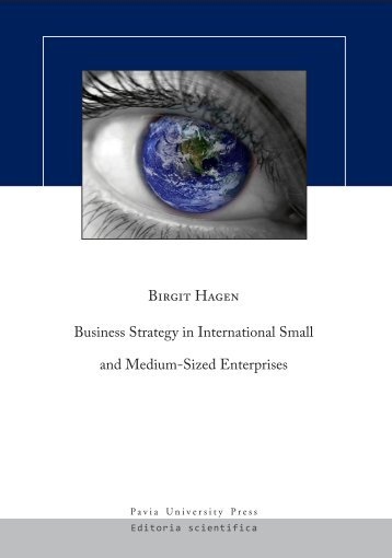 Business Strategy in International Small and Medium-Sized - Pavia ...