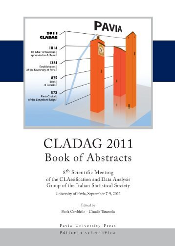 CLAssification and Data Analysis Group of the Italian Statistical ...