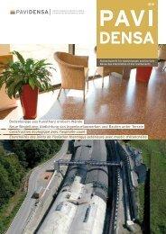 Die aktuelle Ausgabe der Fachzeitschrift PAVIDENSA 2-12