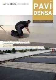 Die aktuelle Ausgabe der Fachzeitschrift PAVIDENSA 2-13