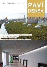 Betonoberflächenbearbeitung für Abdichtungen im ... - Pavidensa
