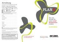 sozial- ökologischen - Plan B