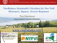 Sustainable Viticulture for New York - PA Wine Grape Growers ...