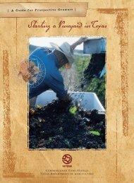 Starting a Vineyard in Texas - Go Texan