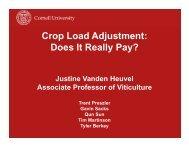 Crop Load Adjustment - PA Wine Grape Growers Network