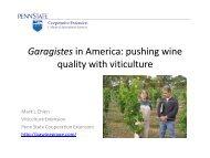 Garagistes in America - PA Wine Grape Growers Network