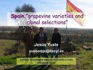 Variedades y Selección clonal en España - PA Wine Grape Growers ...