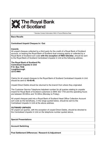 Rbs Bank Cheque Image