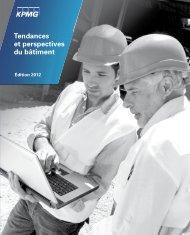 Tendances et Perspectives du Bâtiment - Edition 2012 - KPMG