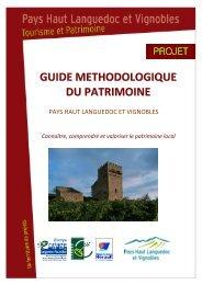 Guide Méthodologique du Patrimoine - Pays Haut Languedoc et ...
