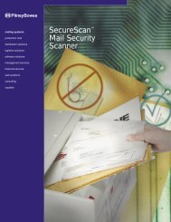 SecureScan™ Mail Security Scanner - Pitney Bowes