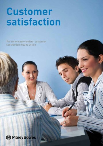 Customer Satisfaction White Paper - Pitney Bowes