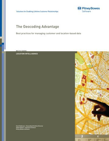 White Paper: The Geocoding Advantage—Best ... - Pitney Bowes