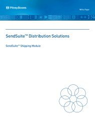 GS 3470 SendSuite Shipping - Pitney Bowes