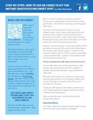 WhaT aRe QR Codes? - Pitney Bowes