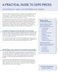 A Practical Guide to USPS® Prices - Pitney Bowes - Page 2