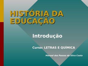 PARADIGMAS EDUCACIONAIS - UTFPR