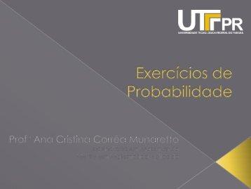 Trabalho - UTFPR