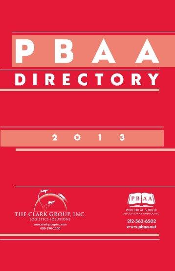 Directory 2013 For W.. - Pbaa.net