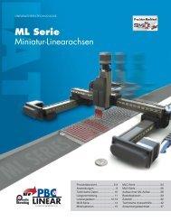 ML Serie - PBC Lineartechnik GmbH