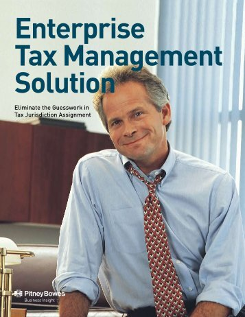 Eliminate the Guesswork in Tax Jurisdiction Assignment