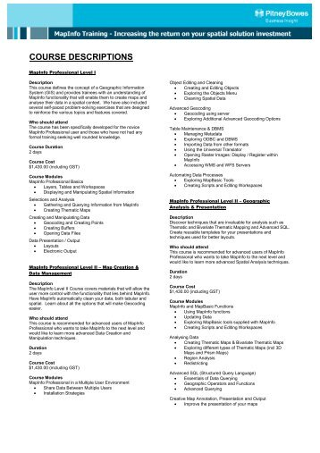 Course Outline for FPOE 40th Specialized Training Program (STP ...