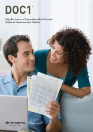 DOC1 Brochure - Pitney Bowes Software