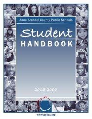 2005 Student Handbook Final.indd - PBIS