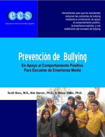 Programa de Prevención de Bullying En Apoyo al ... - PBIS
