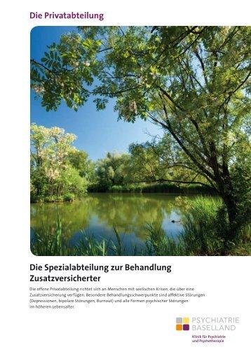pdf, 981.7Kb - Psychiatrie Baselland PBL