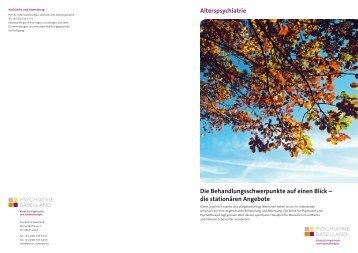 pdf, 1.5Mb - Psychiatrie Baselland PBL