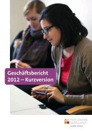 Geschäftsbericht Kurzversion 2012 (pdf, 3.6Mb) - Psychiatrie ...