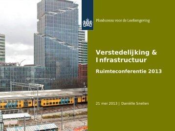 Verstedelijking en infrastructuur. (pdf)