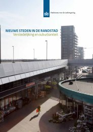 Nieuwe stedeN iN de RaNdstad Verstedelijking en suburbaniteit