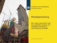 Planobjectivering. (pdf) - Planbureau voor de Leefomgeving