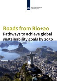 Roads From Rio+20: Pathways to Achieve Global Sustainability ...