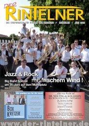 Jazz & Rock mit frischem Wind ! - Der Rintelner