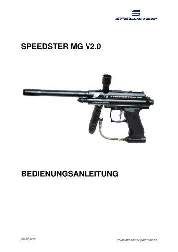 SPEEDSTER MG V2.0 BEDIENUNGSANLEITUNG - PBportal.de