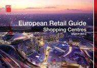DTZ European Retail Guide - Shopping Centres