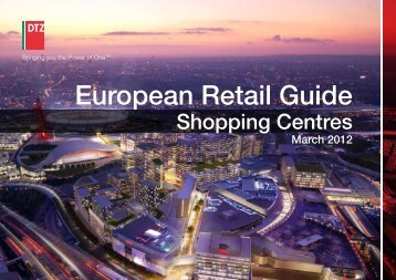 DTZ European Retail Guide - Shopping Centres