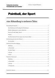 Paintball, der Sport - PBportal.de
