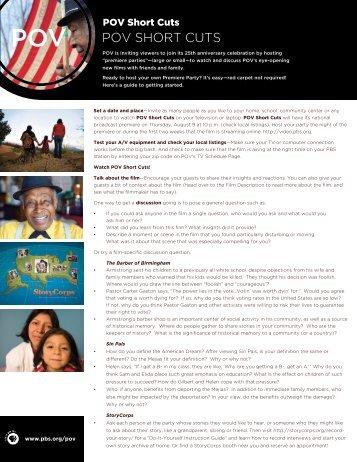 Planning Guide (PDF) - PBS