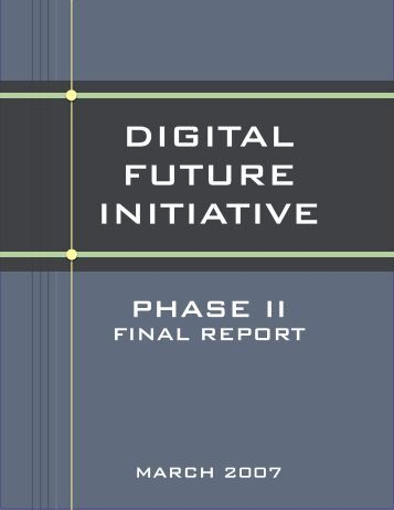 the digital future initiative - PBS