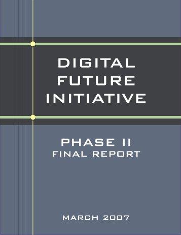 the digital future initiative - PBS