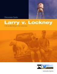 Discussion Guide   Larry v. Lockney - PBS